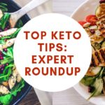 top keto tips cover image.
